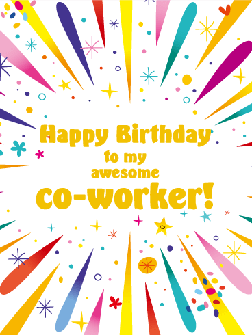 Funny Birthday Wishes for Colleagues