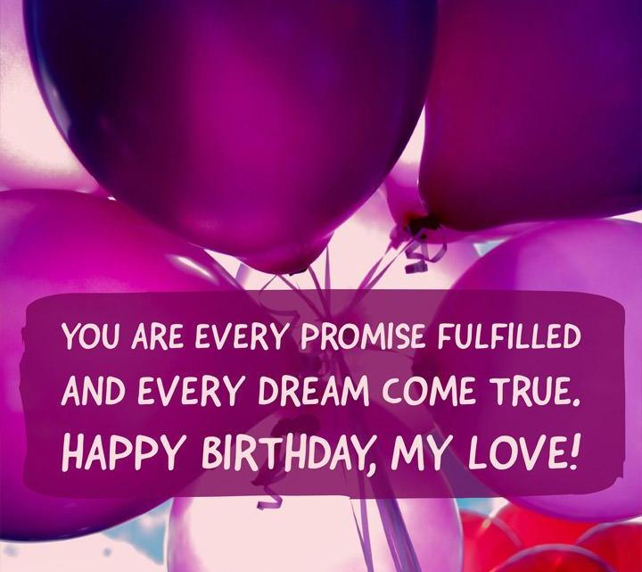 happy birthday wishes for love 6