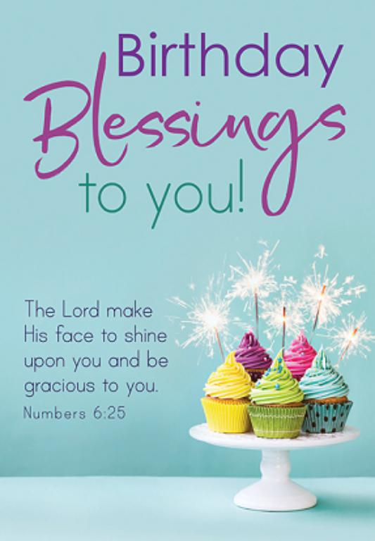 Birthday Blessings Images