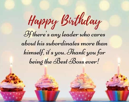 Cool Happy Birthday Wishes For Boss New Birthday Wishes Personalised Birthday Cards Paralily Jamesorg