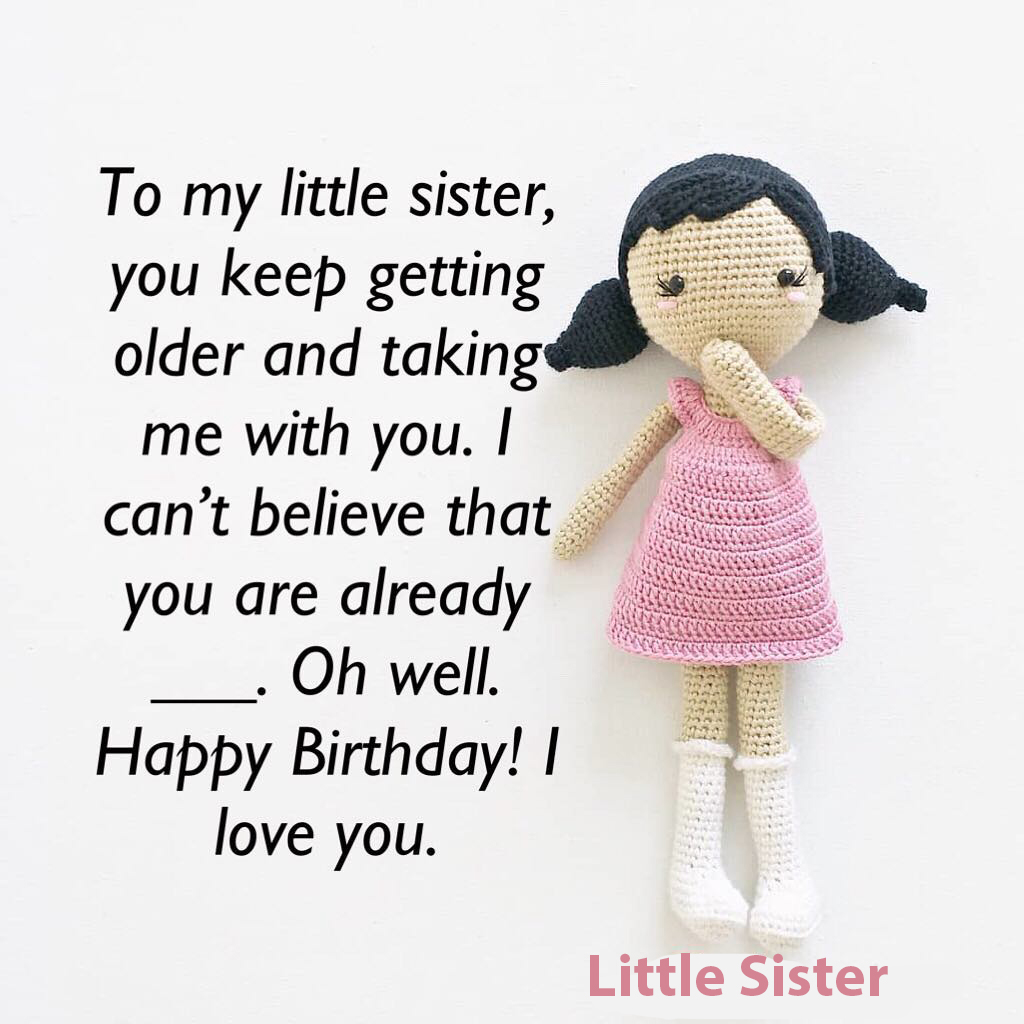 Happy Birthday Wishes for Little Sister - Happy Birthday Wishes for Little  Sister